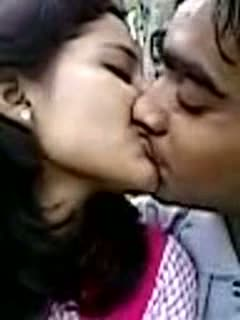 College Lovers in Park