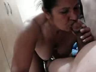 Aunty Luring His Cock