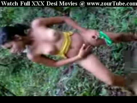Indian Teen Naked Jungle Stripping