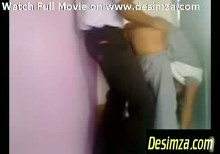 Amateur Indian Students Fucking With Their Clothes On