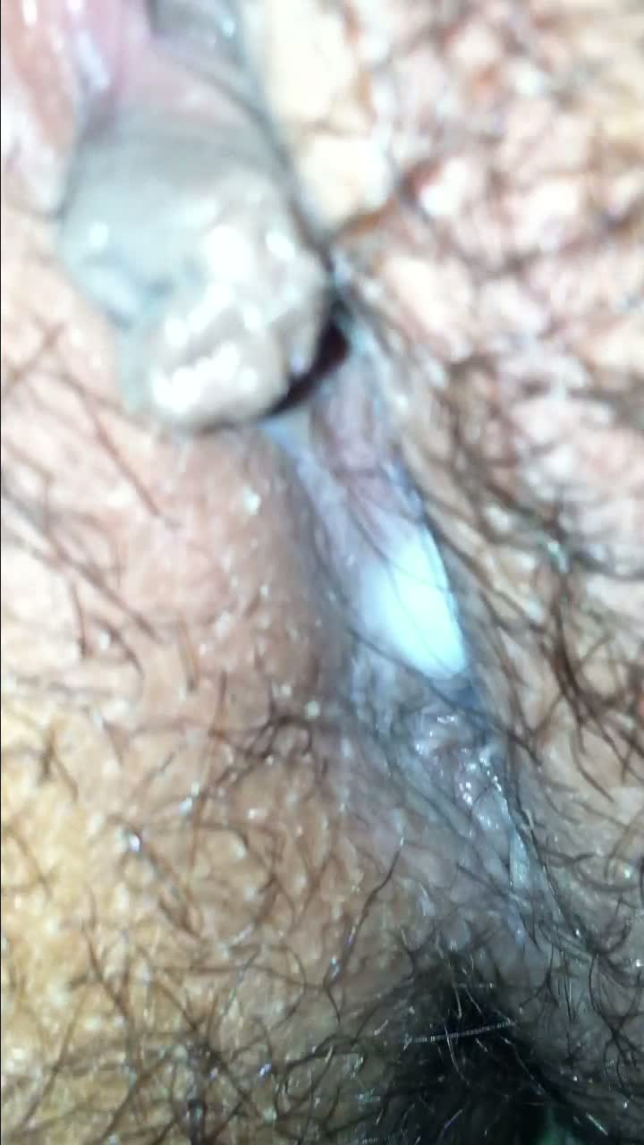 Wife Hairy Pussy Juice