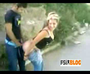 Paki Outdoor Doggy Style MMS
