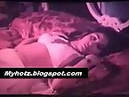 Chubby aunty hot pose on bed