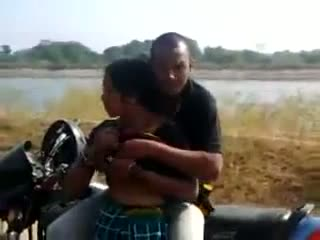 South sex scandal of village lady with a biker
