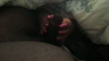 Indian porn tube mms clip of south girl Devangi leaked foot job mms
