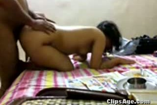 Desi college girl getting ass fucked by paying guest house uncle with loud moans