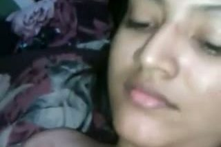 Desi teen college girl caught by lover after sex session