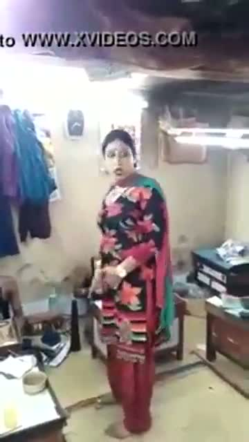 Ladyboy in pawn shop removing panty