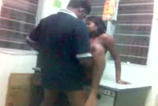 Bengaluru young girl doing office sex with boss for her promotion