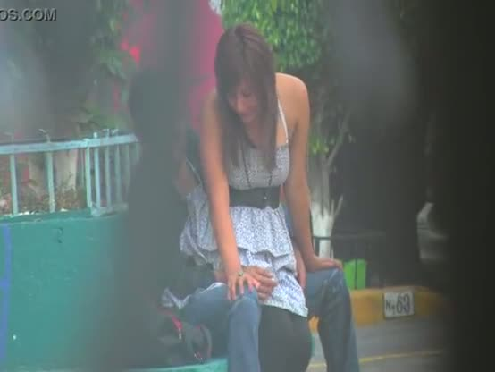 Desperate NRI college girl outdoor sex with lover