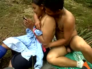 Assam young lovers obsessive outdoor sex scandal mms video