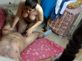 Lucknow bhabhi caught giving blowjob on hidden cam