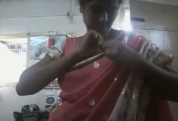 Desi big boobs aunty stripping clothes one by one
