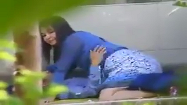 North Eastern Indian kinky couple enjoy outdoor sex in park
