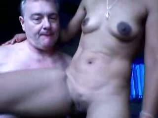 Indian old age man home sex with maid leaked selfie