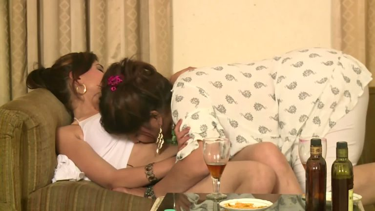 Indian lesbian mms – aunty teaches young lesbo girl