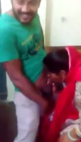 Indian blowjob mms of mature muslim aunty with tenants
