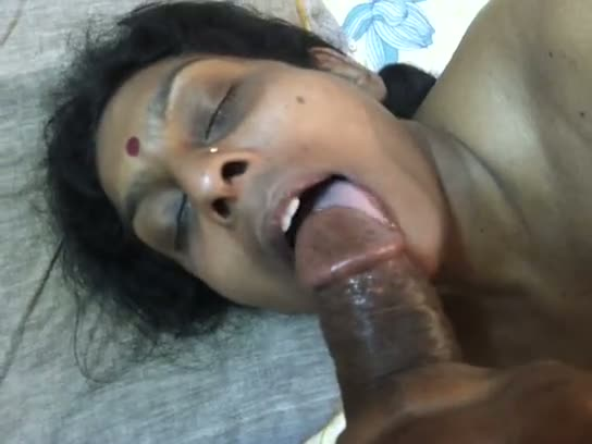 Tamil blowjob sex mms of horny aunty sucking cock