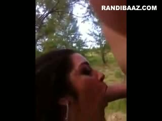 NRI mature house wife outdoor sex with lover