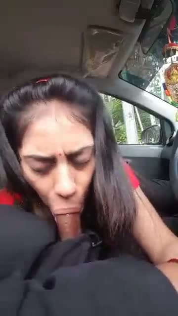 Car porn video of a hot college student