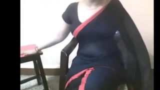 Leaked MMS of a hot bhabhi during a video chat