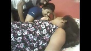 Threesome sex live with two desi cam girls