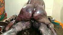 Indian BBW having colorful oil sex