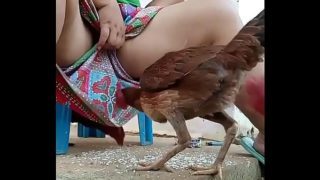 Asian Aunty Flashing Pussy To An Actual Cock
