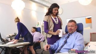 Indian Girl Starring In An Office Porn