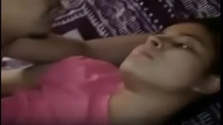 Village sexy teen fucked by cousin with naughty audio