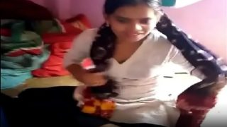 New married lucknow desi wife hot blowjob