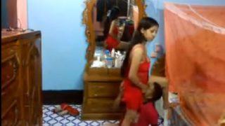 Rich hot bhabhi sex with servant recorded