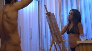 XXX porn video of indian girl painting nude